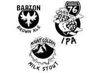 Barton Brewing Co. Illustrations