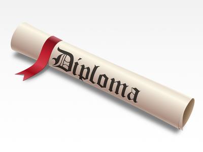 Diploma icon diploma icon red ribbon scroll old