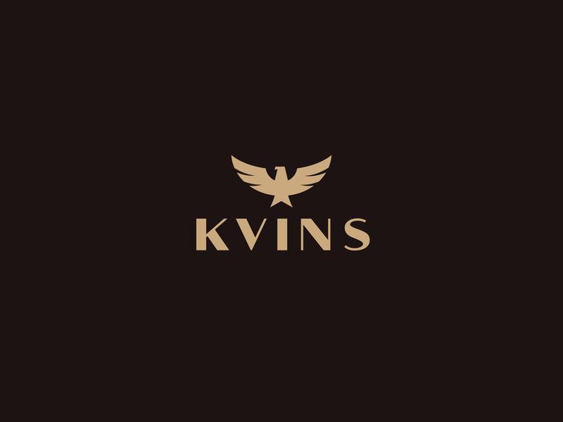 Approved logo for KVINS