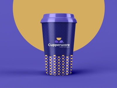Cupperware Branding packaging design packaging illustrator logo design designer design agency logo icon identity design symbol icon illustration symbol brand identity branding and identity branding concept branding agency branding design branding
