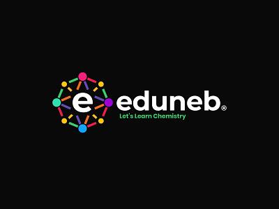 Eduneb Logo and branding design icon identity design symbol icon design agency illustration symbol branding logo design chemistry symbol chemistry logo chemistry logo