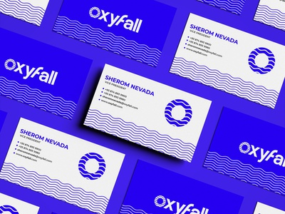 oxyfall branding concept business card design branding and identity branding concept branding agency logo design vcard logomaker branding design flat design agency design icon identity design symbol icon illustration symbol logos business card branding logo
