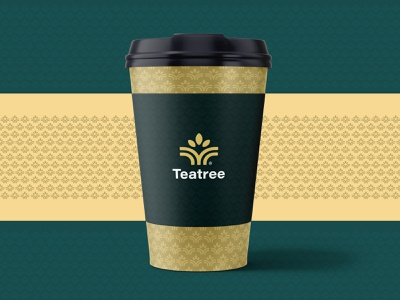 Teatree Logo and branding green logotype branding and identity branding concept branding agency tea design agency design branding design app icon icon identity design symbol icon illustration symbol logo design branding logo