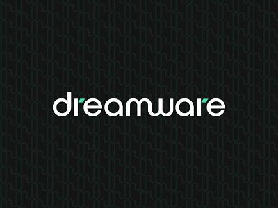 dreamware Logo and Branding brabnding branding design logos black white black d logo logodesign identity logo design symbol design flat design agency design icon identity design symbol icon illustration symbol branding logo
