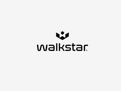 WALKSTAR lOGO AND BRANDING lookbook graphic design branding design design agency design icon identity design symbol icon illustration symbol branding footwear logo