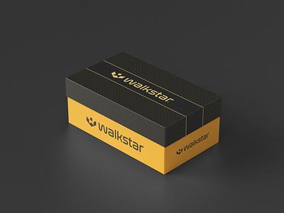 Walkstar Logo and Branding w letter w logomark w symbol footwalls logotype w logo logomaker flat design agency design icon identity design symbol icon illustration symbol branding logo design footwear design footwear