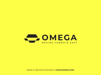 OMEGA Taxi Logo vector design icon identity design symbol icon illustration logo symbol branding minimal logo minimal taxi logomark car logomark car icon car symbol car logo taxi ixon taxi symbol taxi logo taxi