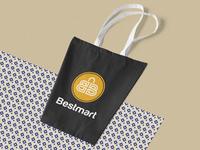Logo Designed for Bestmart. Letter B concept