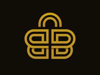 Letter B + Market logo design