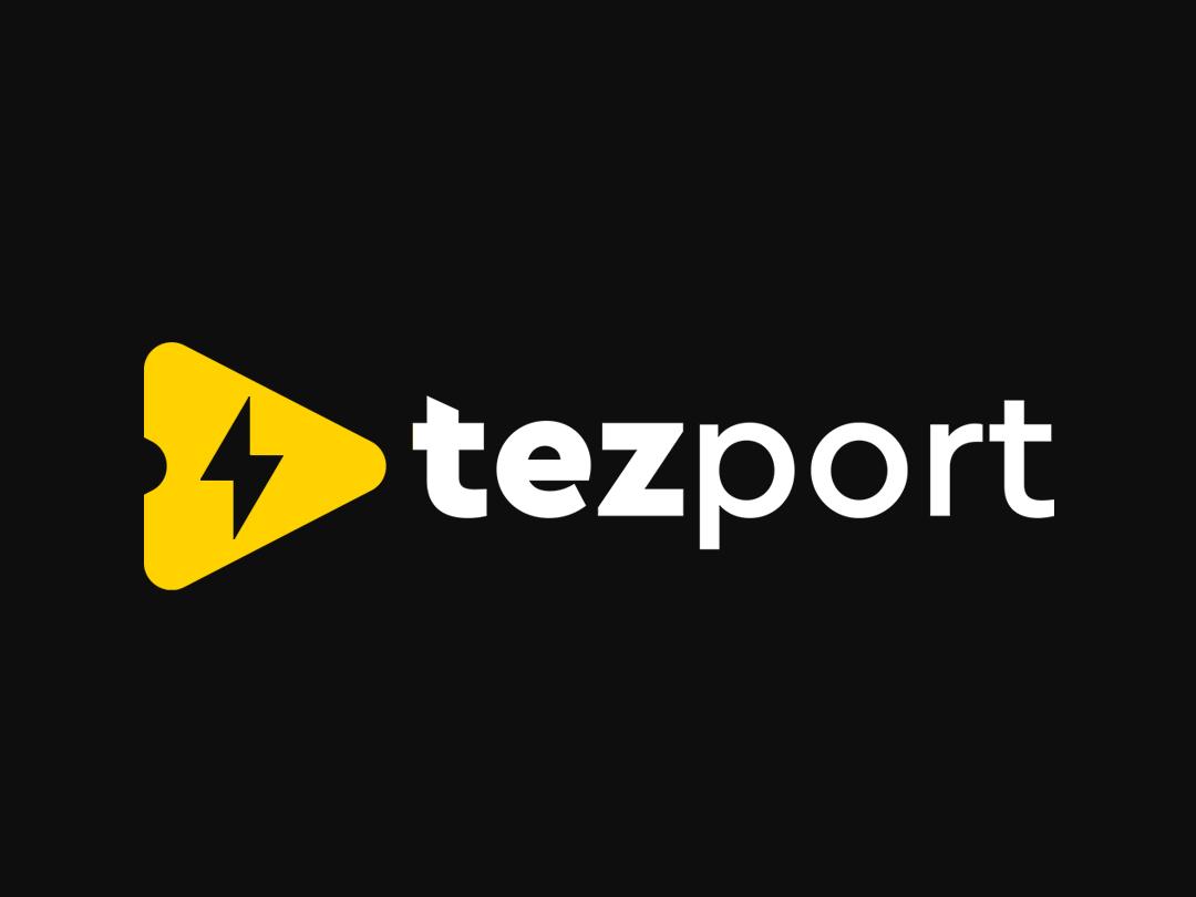 Logo designed for Tezport Logistics symbol design identity design identity design flat illustration branding icon app icon symbol icon logo app logo logistics logo charge logo t logo speed logo speed symbol charge symbol symbol logistics