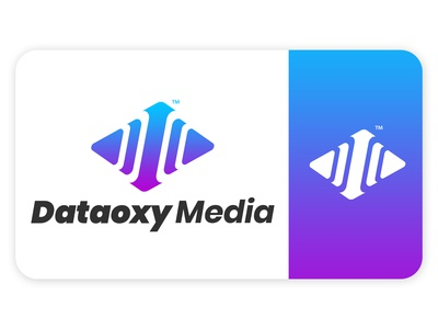 A logo option designed for a media company