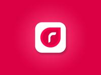 R app icon