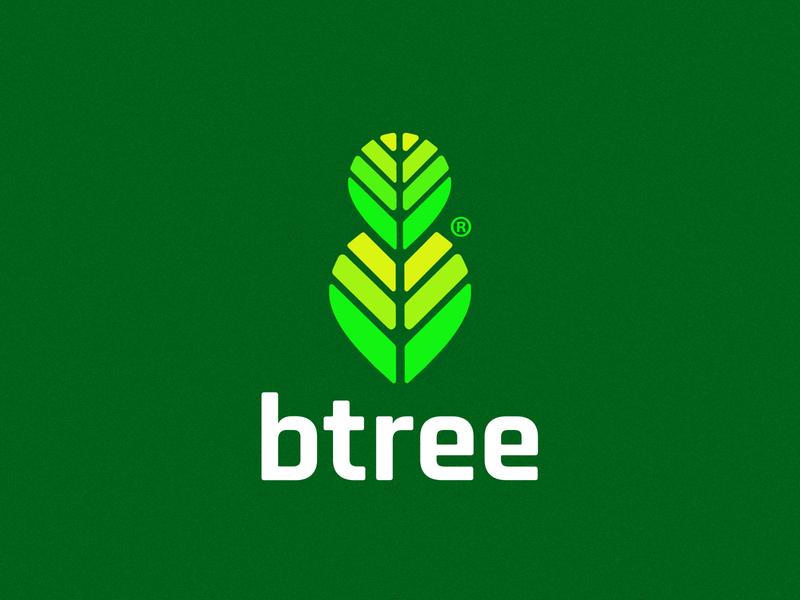 Btree Logo - Branding Practice