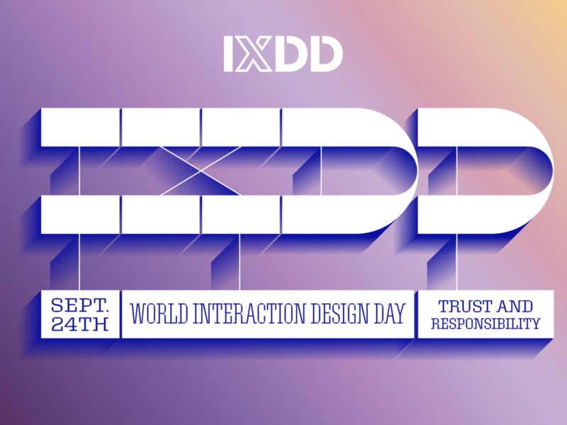 Gear up for World Interaction Design Day 2019 ui  ux design ux design interaction design ixdd interaction design association