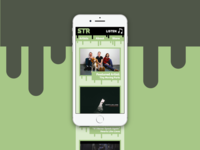 Slime Time Records - Mobile Site