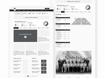 Sports League Website Wireframes website ux webpage user experience ux usability website wireframing web user experience sport experience ux wireframes