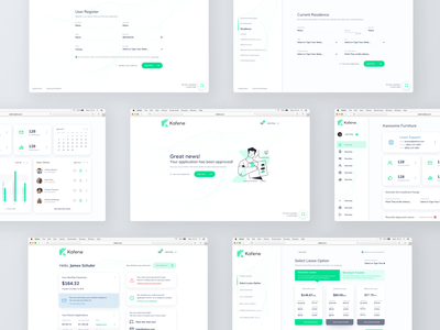 Loan App Desktop UI form design form dashboard design dashboard ui user experience design user interface design user interface user experience loans finance app finance app design app ui clean experience design ux