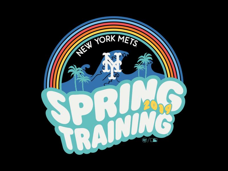 de70e797b581ea Mets Spring Training lauren nugent sport design apparel design graphic  design logo illustration apparel graphics mlb