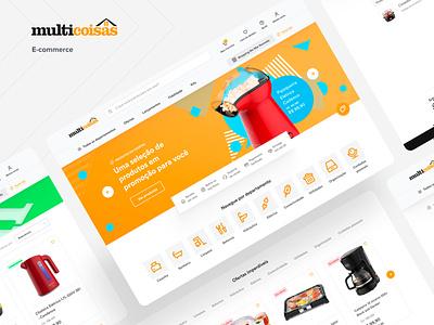 Multicoisas - Ecommerce ux strategy brasil brazil product design uidesign ui ux ecommerce shop ecommerce