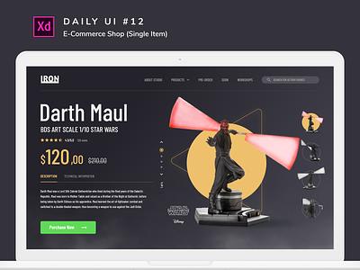 Daily UI challenge #012 star wars starwars desktop uiux design uidesign adobe xd ui dailyui