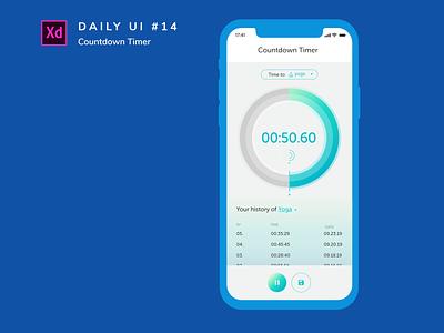 Daily UI challenge #014 yoga challenge app adobe xd design ui dailyui