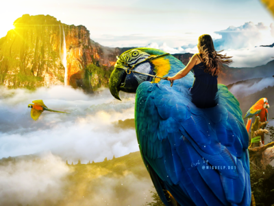 Amazonas - salto angel