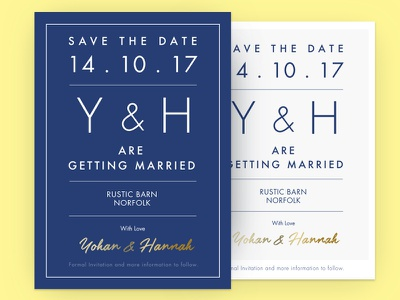 Save The Date - card design card savethedate october email design wedding invite save the date