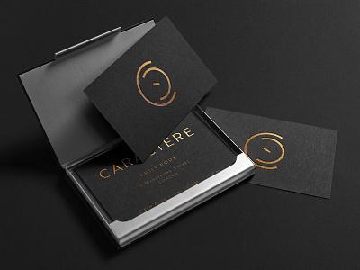 Logo Design for a new Fine Dining restaurant bespoke copper fine dining mark c identity brand design restaurant food logo