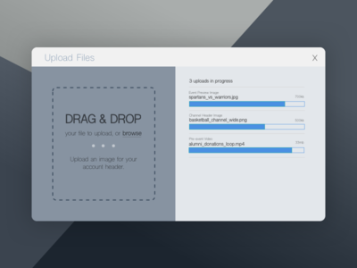 File Upload Dialog