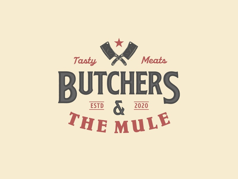 Butchers & The Mule Logo