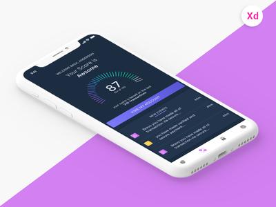 Money Transfer app Black theme
