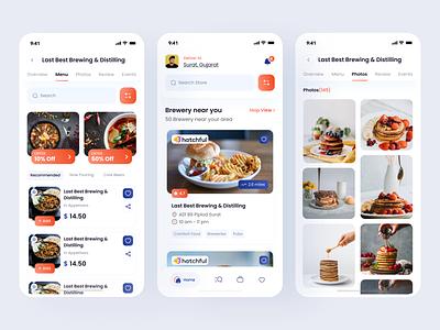 Foodiee App food delivery app ui online food order mobile app online onlinefoodorder food app design foodie app ui