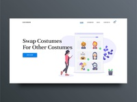 Costume Landing Page