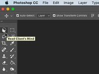 Read Client's Mind Photoshop Tool