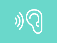 Hear icon