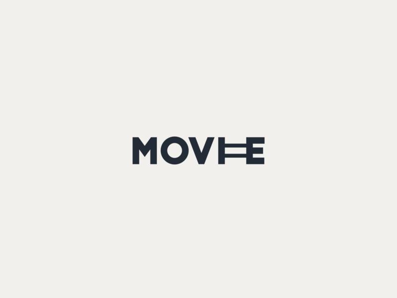 Movie Logo minimal app icon logotypedesign graphicdesign logotipo movie art movie gaphic design art designer design brand brand identity brand design branding logotype logos logo design logo
