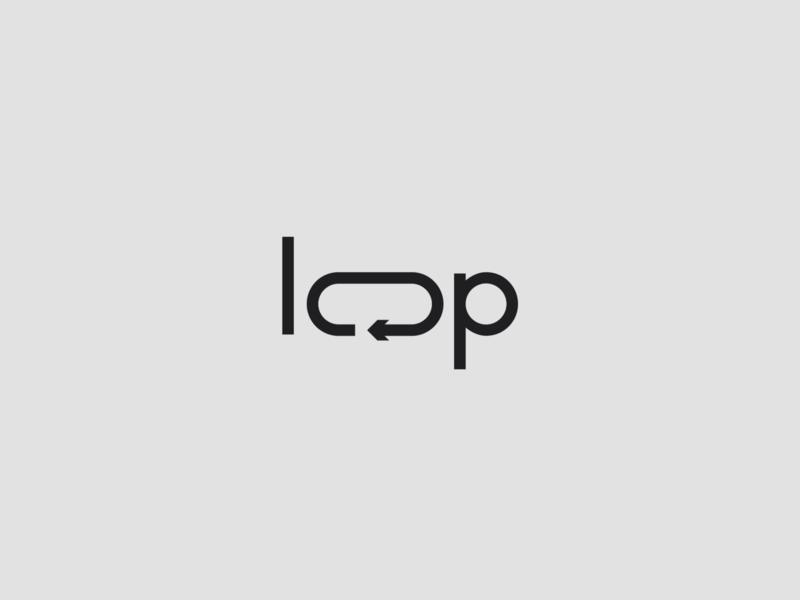 Loop Concept graphicdesign brand identity brand design branding minimalist logo minimalistic minimalism minimal designer design logotypedesign logotipo logodesign logotype logo