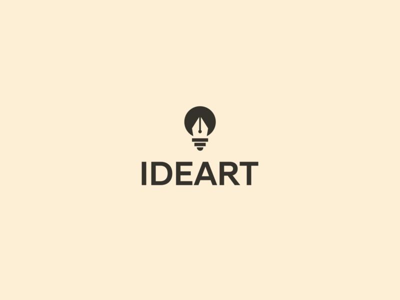 Ideart Logo design art designer designs design identity ideation ideas idea minimalist logo minimalistic minimalism minimalist minimal logodesign logotype logo design logos logo