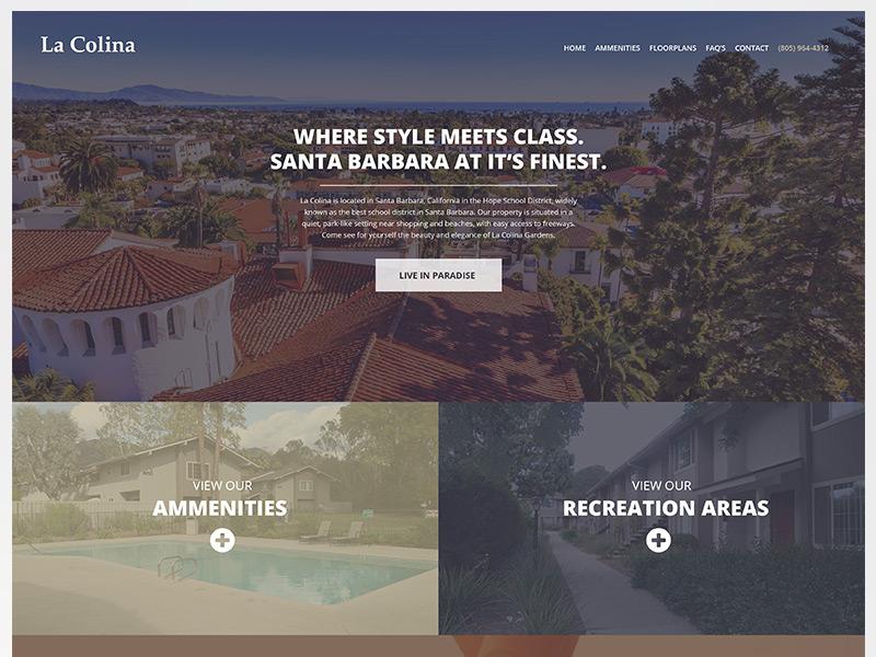 La Colina Apartments Homepage