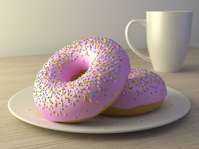 Cheeky Doughnut Or Two?