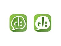 El: talking app logo