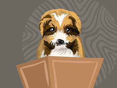 Puppy 🐶 animal dogs web app procreateart procreations painting website ui graphic design showcase illustration art lovers art gallery art of the day digital artist illustration artist drawing art digital illustration digital painting artwork illustration