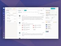 Exzeo webapp new UI...