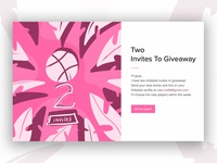 2 dribbble invites to giveaway!!