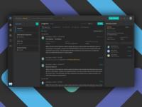Exzeo ClaimColony [cc] Dark Theme UI