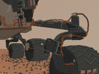 Curiosity WIP 01 detail 02