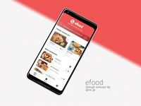 Food delivery concept app