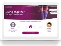 Student Housing website