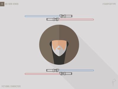 36 Days of Type_O: Obi-Wan Kenobi