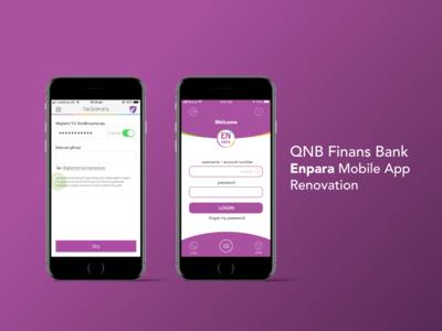 QNB Finans Bank Enpara Mobile Banking App V1